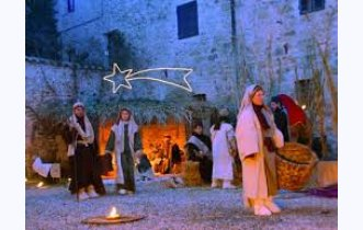 Epiphany 2018-live nativity scene in Casole d'Elsa with the arrival of the wise