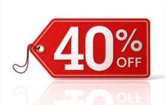 OFFERTISSIME NERBONA -40%!!