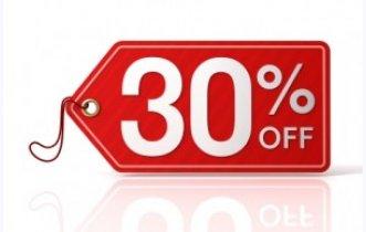 SCONTO -30%!!